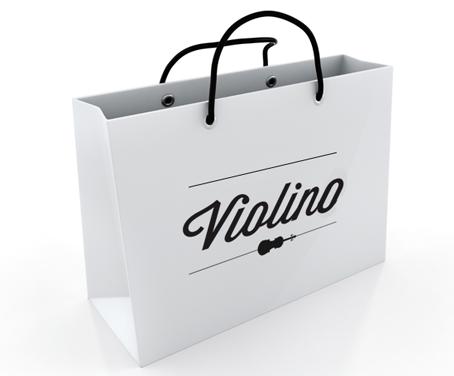 borse di carta per negozi
